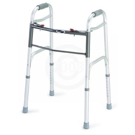 Nova Ortho-Med Folding Walker,  Dual Button Release, 1 ea