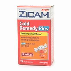 Zicam Cold Remedy Plus Liqui-Loz, 0.25 oz