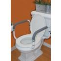 Carex Health Toilet Support Safety Rail, 1 ea