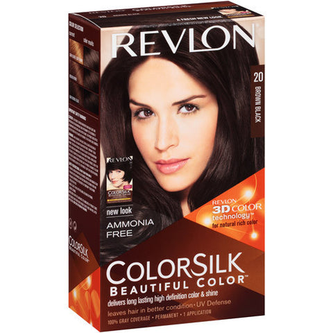 Revlon Colorsilk  Brown Black 20