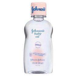 Johnson & Johnson Baby Oil,  3 oz, 3 oz