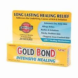 Gold Bond Intensive Healing Anti-Itch Skin Protectant,  Unscented, 1 oz