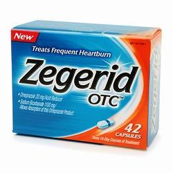Zegerid OTC Acid Reducer, 42 caps