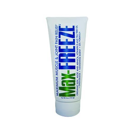 Perfecta Products Max FREEZE Topical Pain Relief Gel, 4 oz