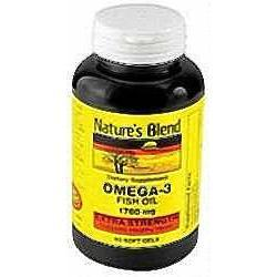 National Vitamin Company Omega-3 Fish Oil,  1000 mg- 300 soft gels