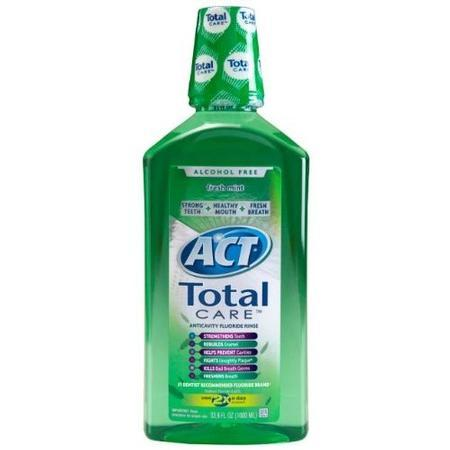 Chattem Act Total Care Rinse,  Dry Mouth, 18 oz