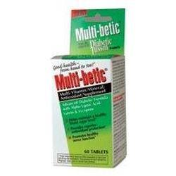 Gaiam Multi-betic Multi-Vitamin Advanced Diabetic Formula, 60 tab