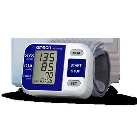 Omron Wrist Blood Pressure Monitor, White/Small, 1 ea