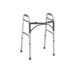 Drive Medical Design Deluxe Folding Walker,  Two Button, 1 ea
