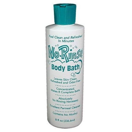 No-Rinse, Body Bath, 8 oz