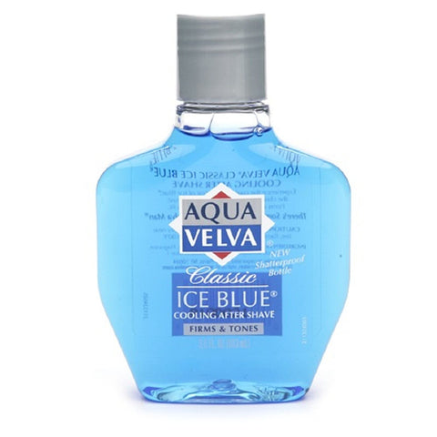 Aqua Velva Cooling After Shave, Classic Ice Blue, 3.5 oz