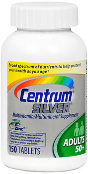 Centrum Silver Adults 50+, 150 tablets