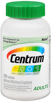Centrum Adults, 200 tablets