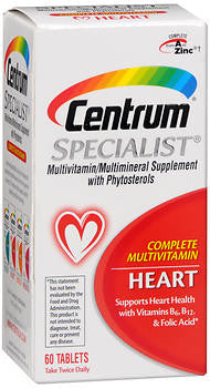 Centrum Specialist for Heart, 60 tabs