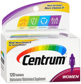 Centrum Women, 120 tablets
