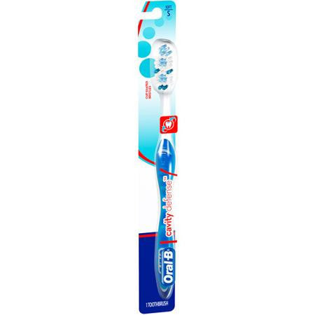 Oral-B Cavity Defense Toothbrush, Soft