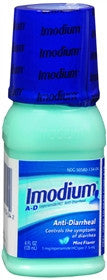 Imodium Anti-Diarrheal, Mint Flavor, 4 oz
