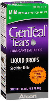 GenTeal Tears Lubricant Eye Drops, Mild, 15ml