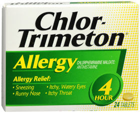 Chlor-Trimetin 4 Hour Allergy Tablets, 24 ct