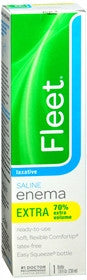 Fleet Enema Laxative Extra, 7.8 oz