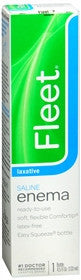 Fleet Enema Ready-To-Use Saline Laxative, 4.5 oz