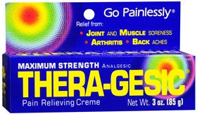 Thera-Gesic Maximum Strength Pain Relieving Creme, 3 oz