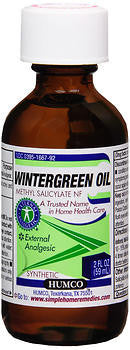 Humco Wintergreen Oil External Analgesic, 2 ounce