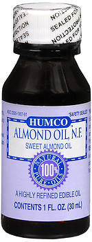 Humco Almond Oil N.F, 1 ounce