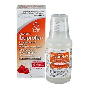 Children's Ibuprofen, Berry, 4oz