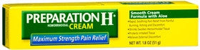 Preparation H Hemorrhoidal Cream, Maximum Strength, 1.8 oz