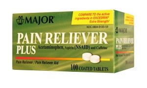 Major Pharm Pain Reliever Plus, 100 tab