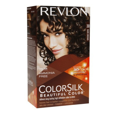 Revlon Colorsilk   Dark Brown, 30