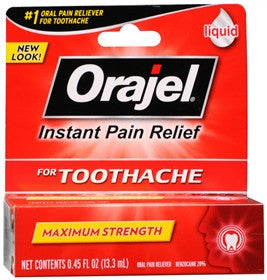 Orajel Instant Pain Relief, Maximum Strength Liquid