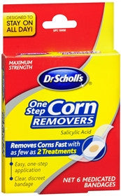 Dr. Scholls One Step Corn Removers Medicated Bandages