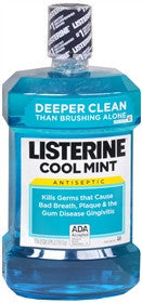Listerine Antiseptic Mouthwash, Cool Mint, 1.5 liter
