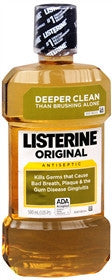 Listerine Antiseptic Mouthwash, Original, 500 ml