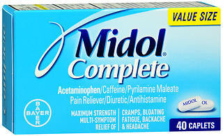 Midol Complete 40ct Caplets