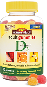 Nature Made Vitamin D3 Adult Gummies, 90 ea