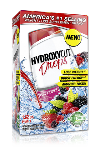 Hydroxycut Drops, Fruit Punch, 1.62oz