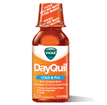 Vick's Dayquil Cold & Flu Relief Liquid, 8oz