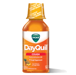 Vick's Dayquil Cough Relief Liquid, Fruit flavor, 12oz