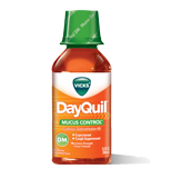 Vick's Dayquil Mucus Control DM Liquid Medicine, 12oz
