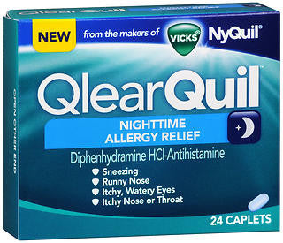 Vick's QlearQuil Nighttime Allergy Relief, 24 LiquiCaps