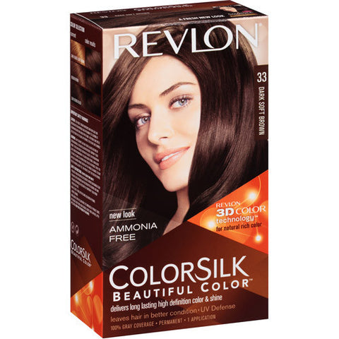 Revlon Colorsilk  Dark Soft Brown 33
