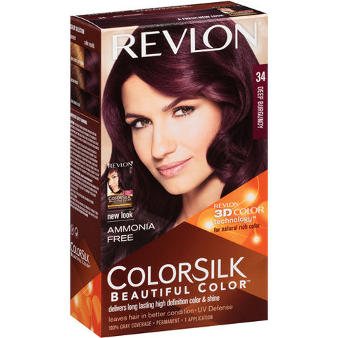 Revlon Colorsilk   Deep Burgundy 34
