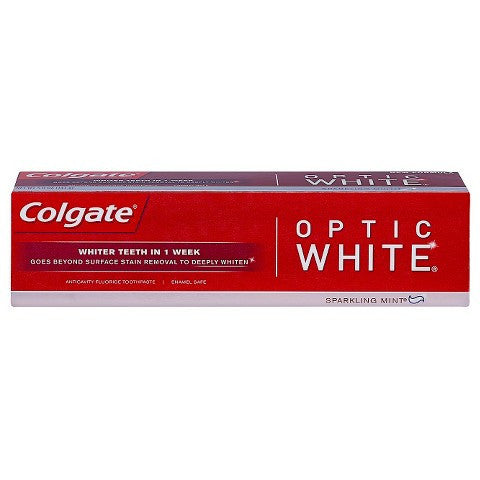 Colgate Optic White Toothpaste, Sparkling Mint, 5oz