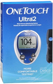 OneTouch Ultra2 Blood Glucose Monitoring System With 10 Lancets