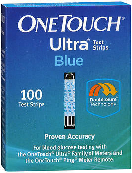 OneTouch Ultra Blue Test Strips, 100 ea