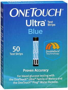 OneTouch Ultra Blue Test Strips, 50 ea