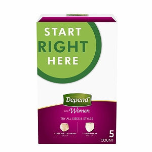 Depend for Women All in One Kit